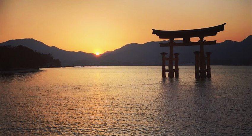 Miyajima Tori Hiroshima Japan
