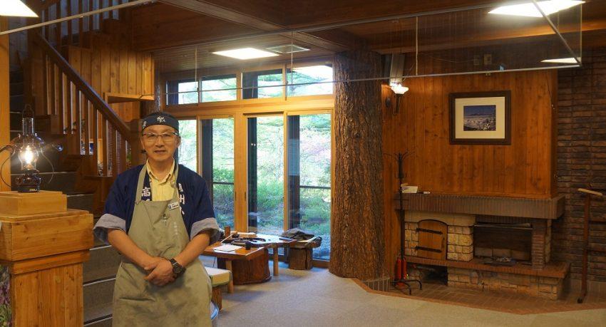 Takamine Onsen Owner Nagano