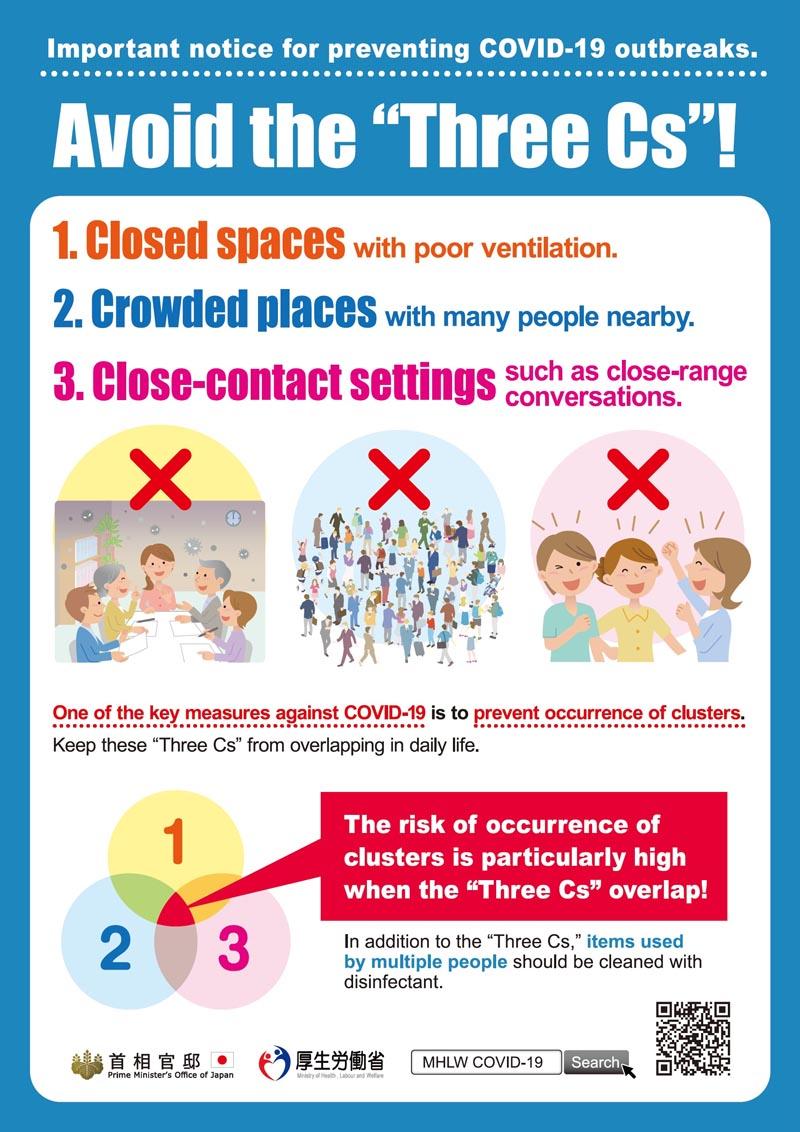 Avoid the Three Cs