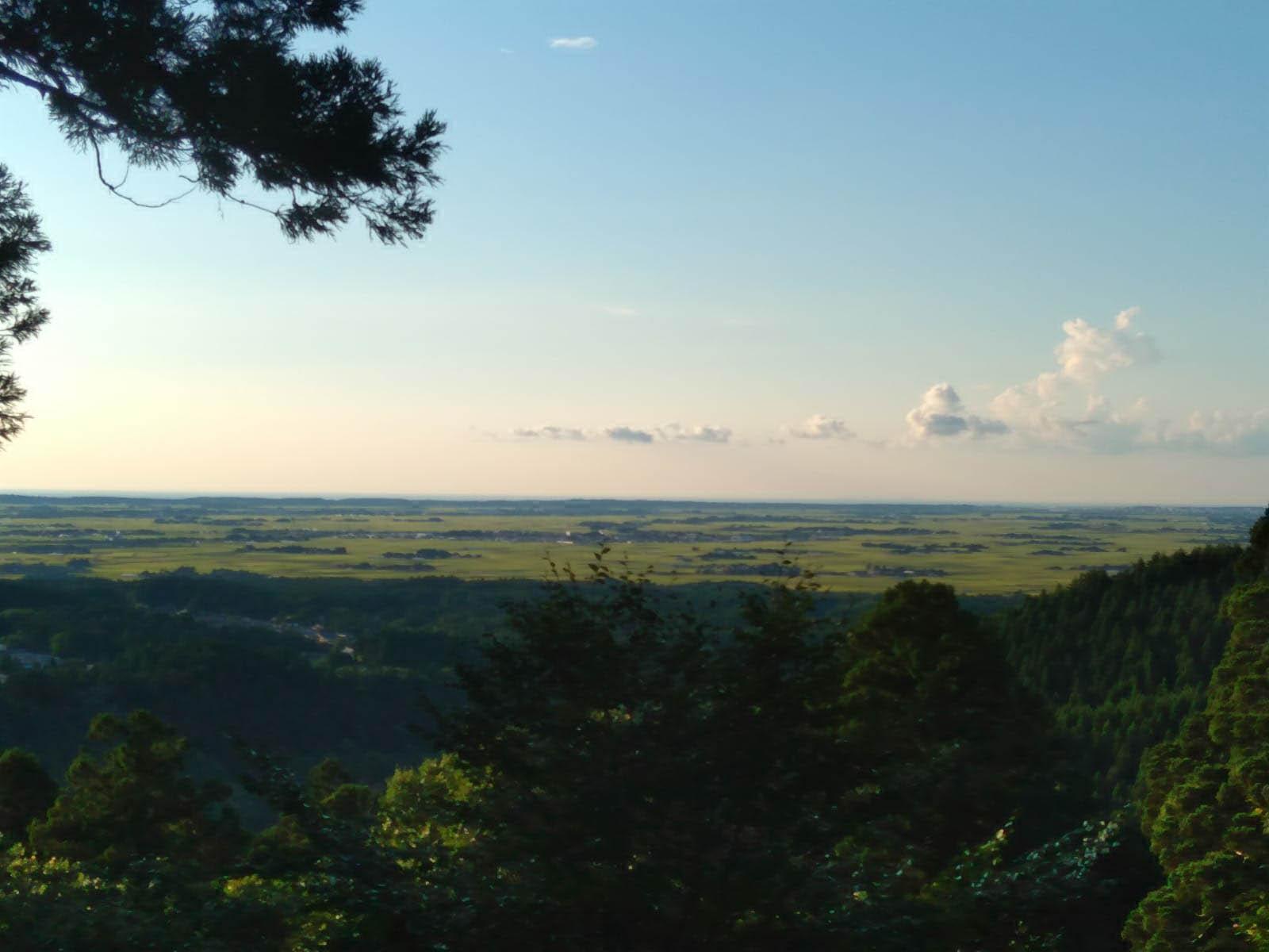 Hiking Mt. Haguro and Onsen Experience in Naruko - panorama